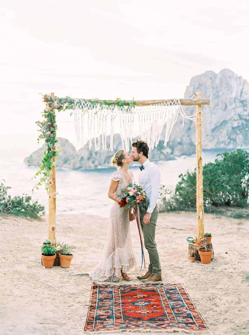 STYLED INSPIRATION AZTEC BOHO CACTUS WEDDING SHOOT IN ES VEDRA IBIZA (25)