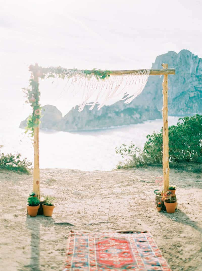 STYLED INSPIRATION AZTEC BOHO CACTUS WEDDING SHOOT IN ES VEDRA IBIZA (8)