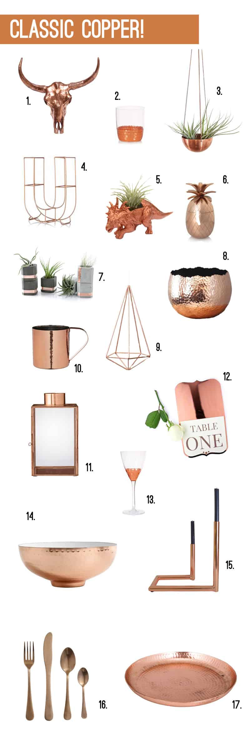 Classic Copper - Wedding Accessories 2