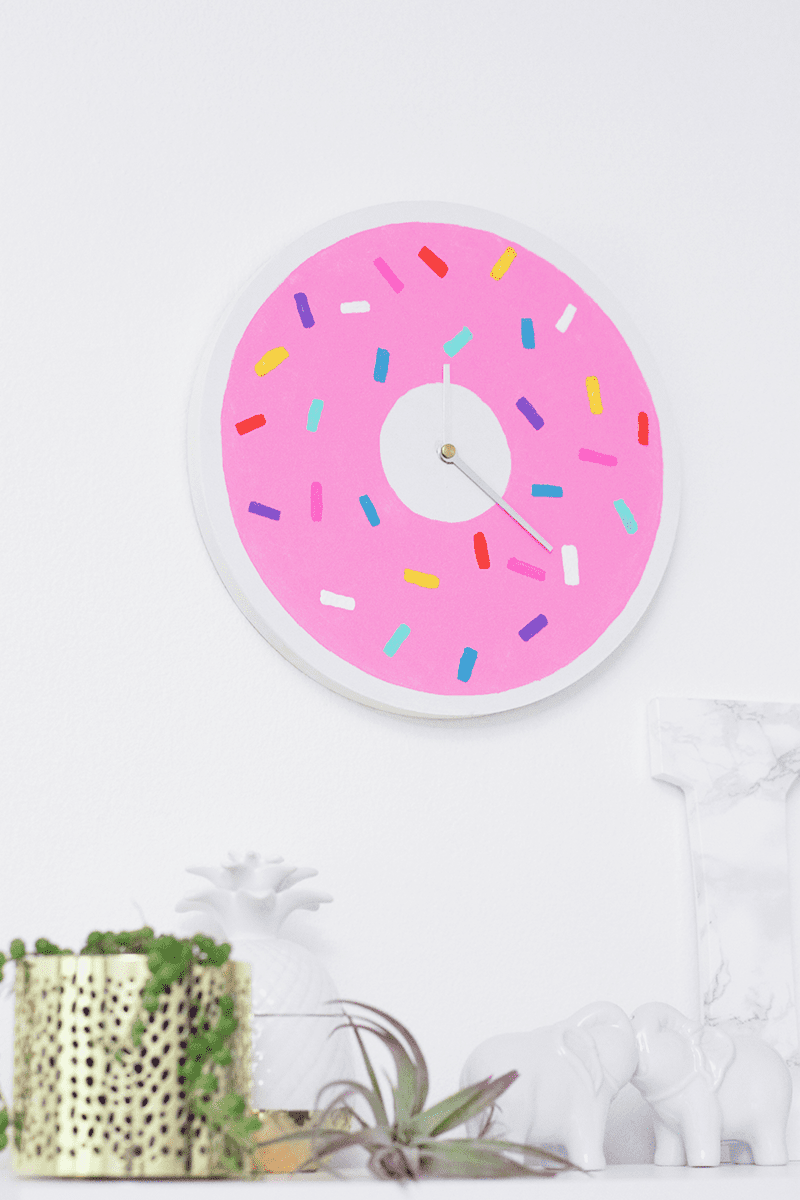 Donut Clock DIY