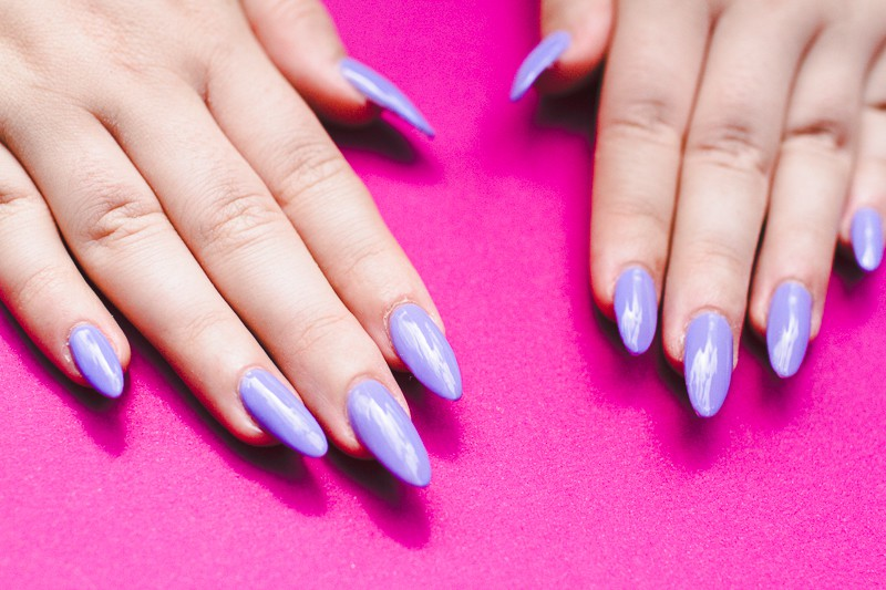 Festival Lace Bridal Nails Lavender Purple Elegant Glastonbury Nail Tutorial_-1