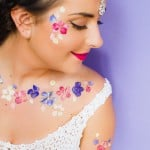 GET SERIOUS FESTIVAL VIBES WITH THESE DIY TEMPORARY FLOWER TATTOOS + 10% OFF YOUR WEDDING CONFETTI!