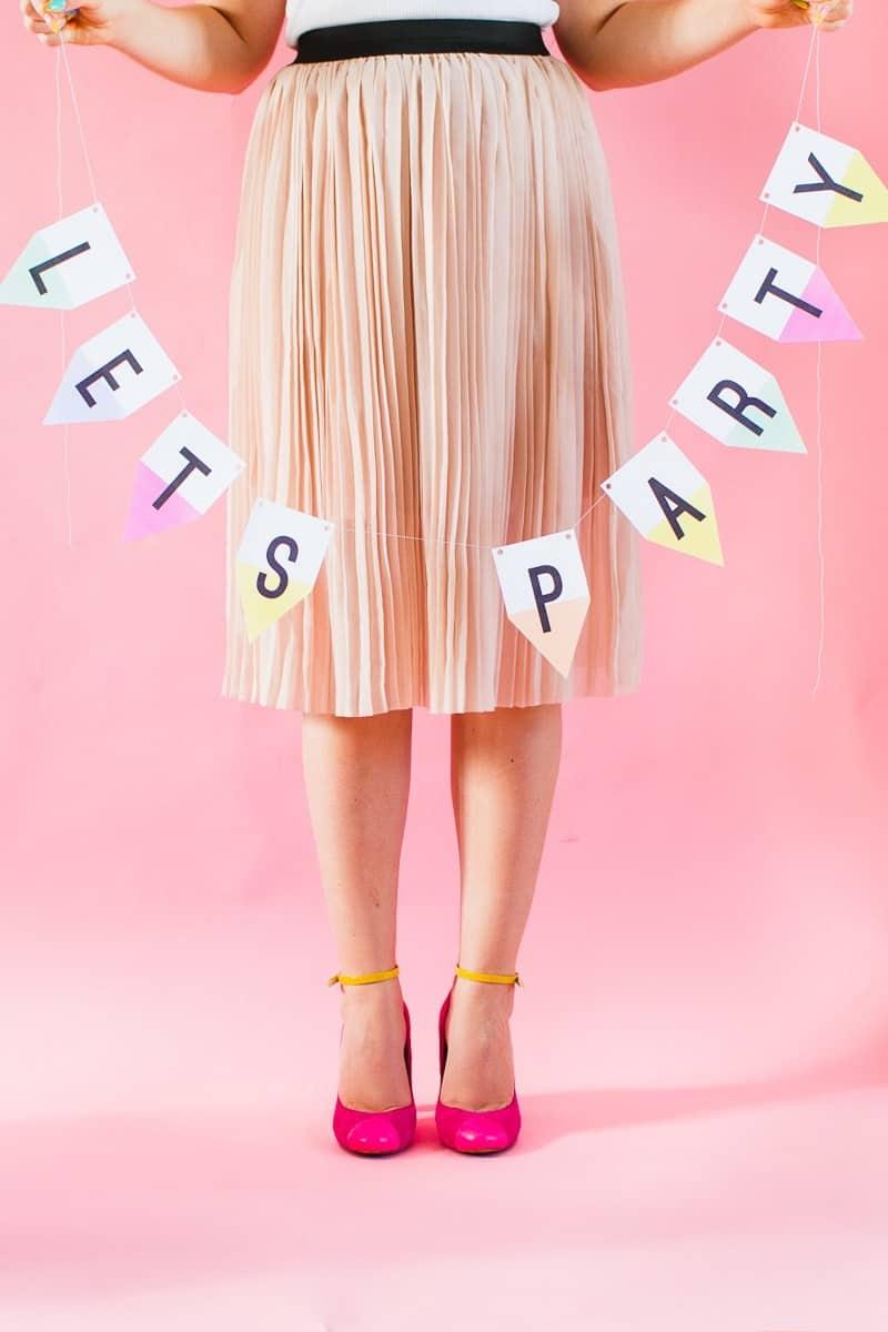 Quick & Easy Wedding DIYS-Alphabet-Banner-Free-Printable-Garland-Bright-Colourful-Fun-Pastels-2