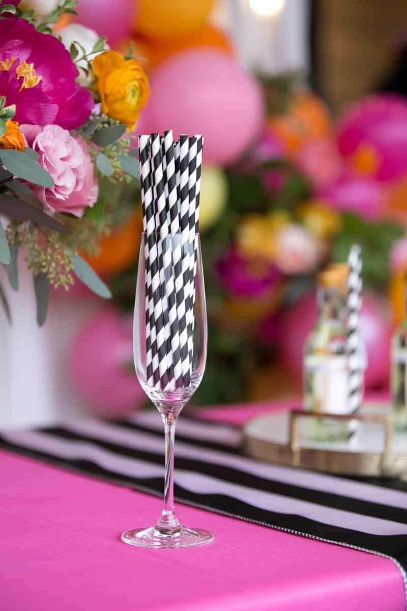 TROPICAL INSPIRED ENGAGEMENT BRIDAL SHOWER IDEAS (11)
