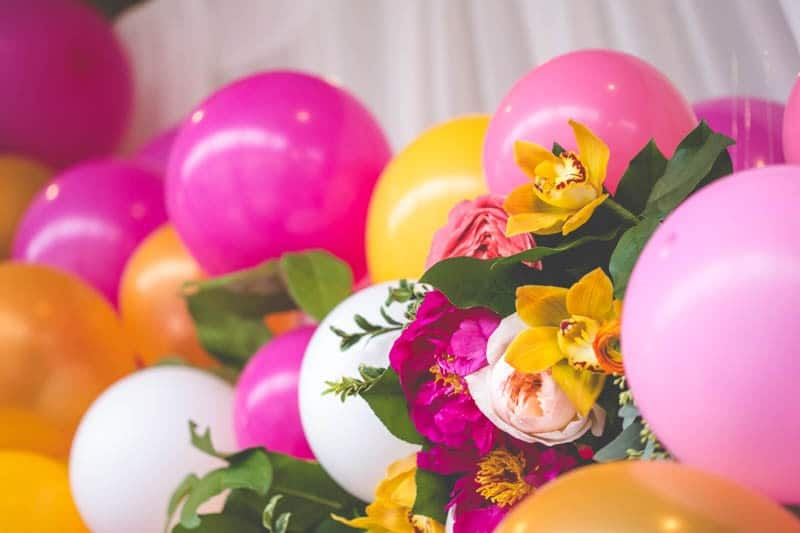 TROPICAL INSPIRED ENGAGEMENT BRIDAL SHOWER IDEAS (3)