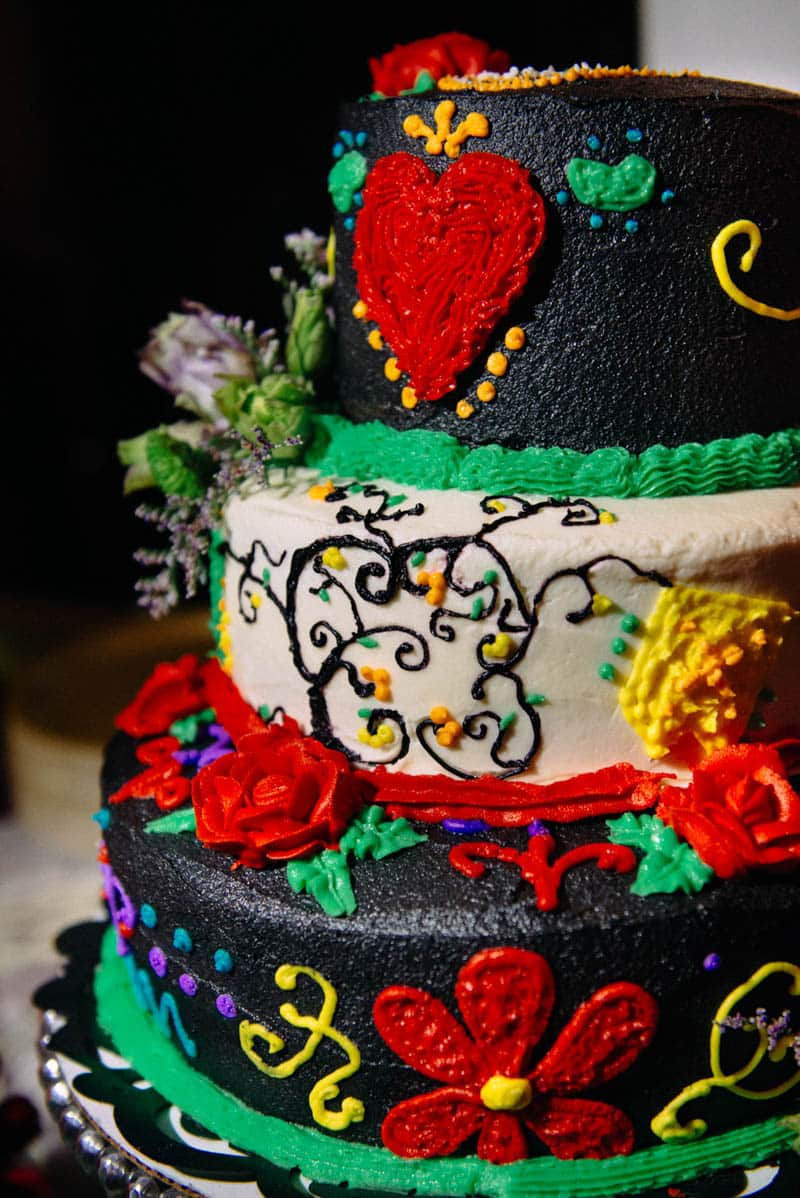 Famous Beautiful Wedding Cakes Thin Wedding Cakes Near Me Square Lesbian Wedding Cake Toppers Wedding Cakes Milwaukee Young Wedding Cakes Austin Tx BlackWhite Almond Wedding Cake Recipe ECLECTIC DAY OF THE DEAD WEDDING | Bespoke Bride: Wedding Blog