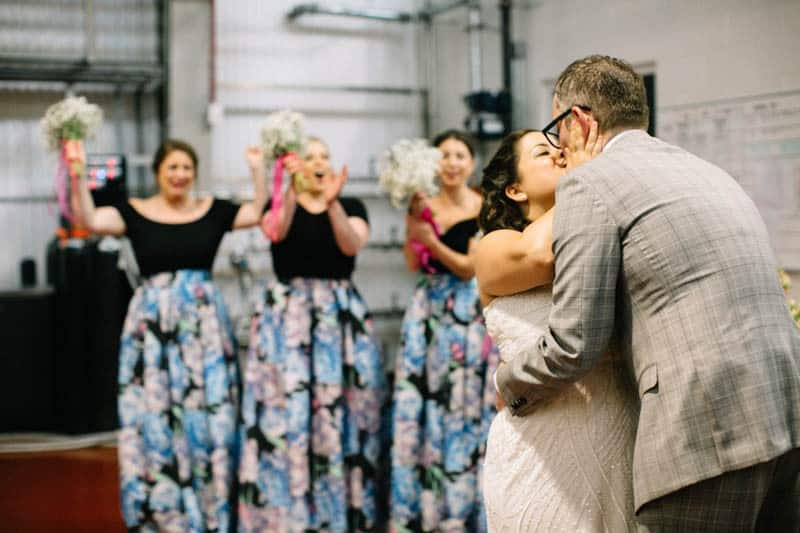 MEXICAN THEMED CLAMBAKE WEDDING IN A BREWERY (24)