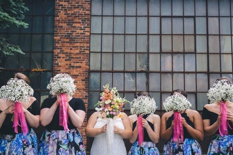 MEXICAN THEMED CLAMBAKE WEDDING IN A BREWERY (6)