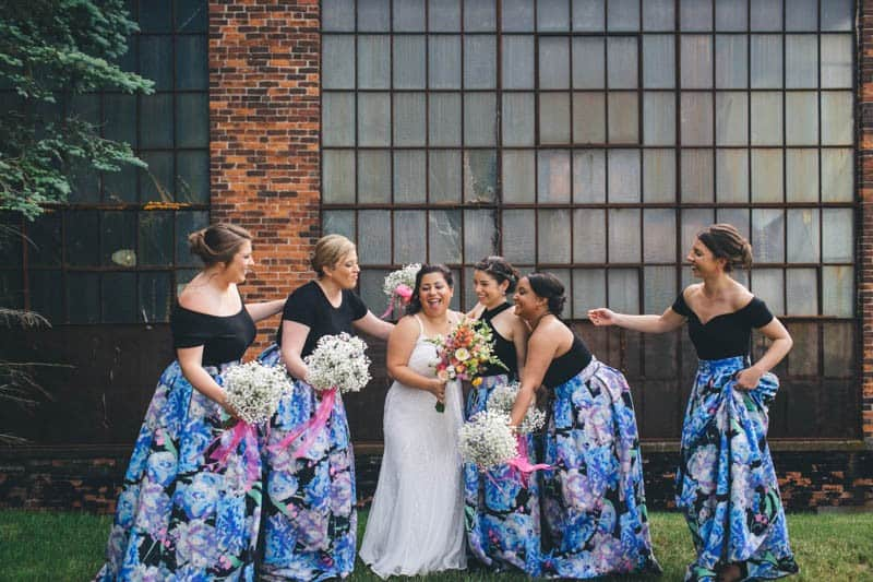 MEXICAN THEMED CLAMBAKE WEDDING IN A BREWERY (7)