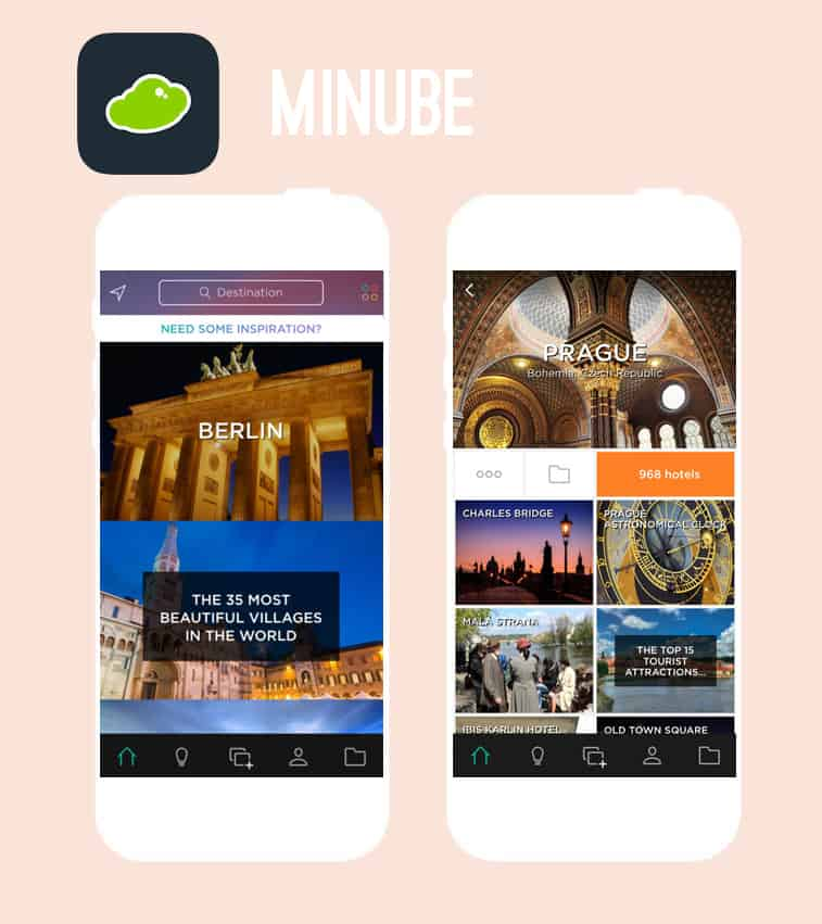 Minube Honeymoon App
