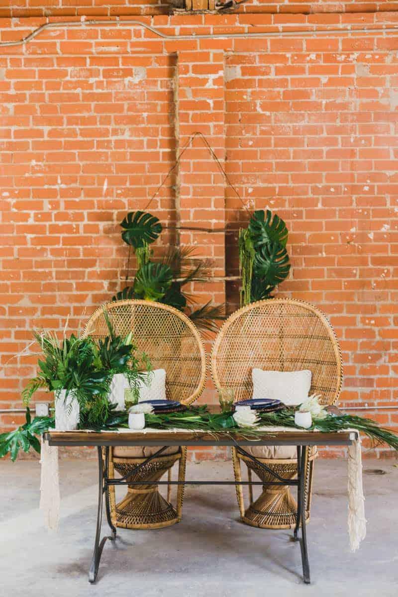 Sweetheart Urban Jungle Wedding Bespoke Bride Wedding Blog