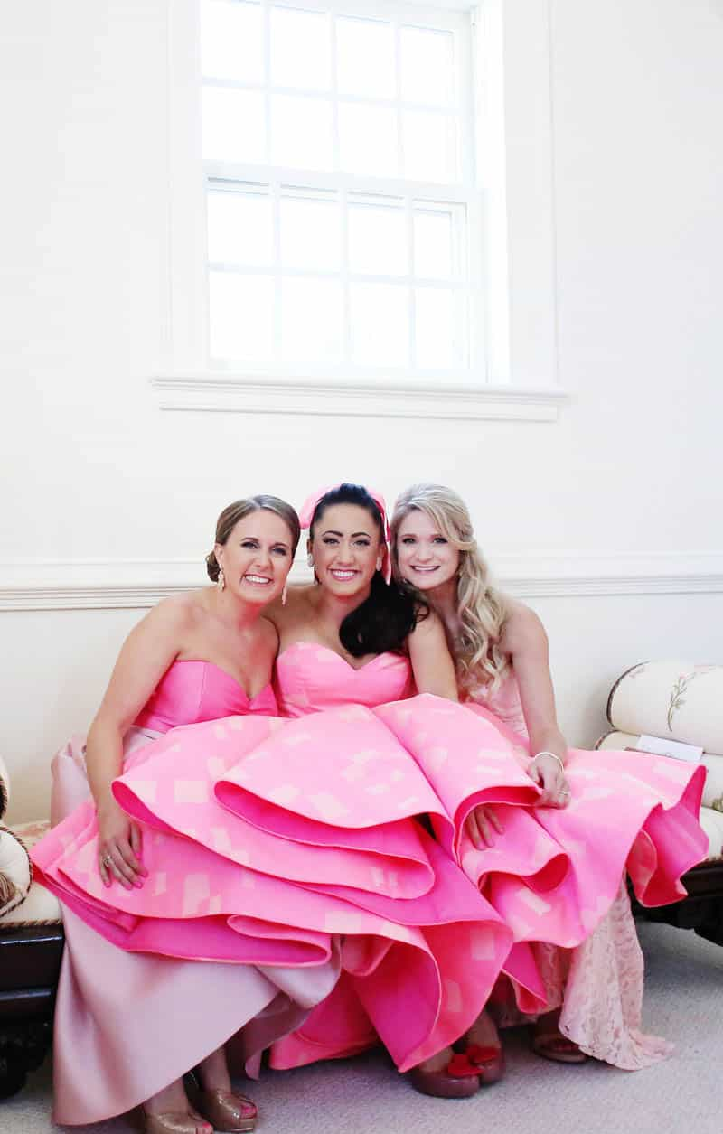 A FUN FLAMINGO EXTRAVAGANZA WEDDING WITH INFLUENCE FROM KATY PERRY AND GRAY MALIN (2)