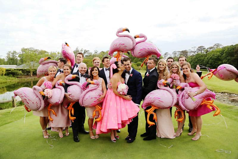 A FUN FLAMINGO EXTRAVAGANZA WEDDING WITH INFLUENCE FROM KATY PERRY AND GRAY MALIN (7)
