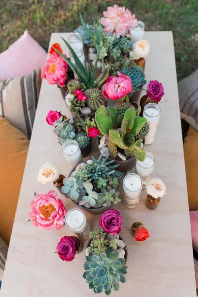 Bohemian Bouquets (Gypsy) by portlandflowers | 100 ...  |Bohemian Style Flowers
