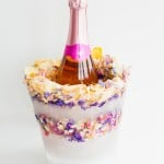 DIY FLORAL CONFETTI ICE BUCKET