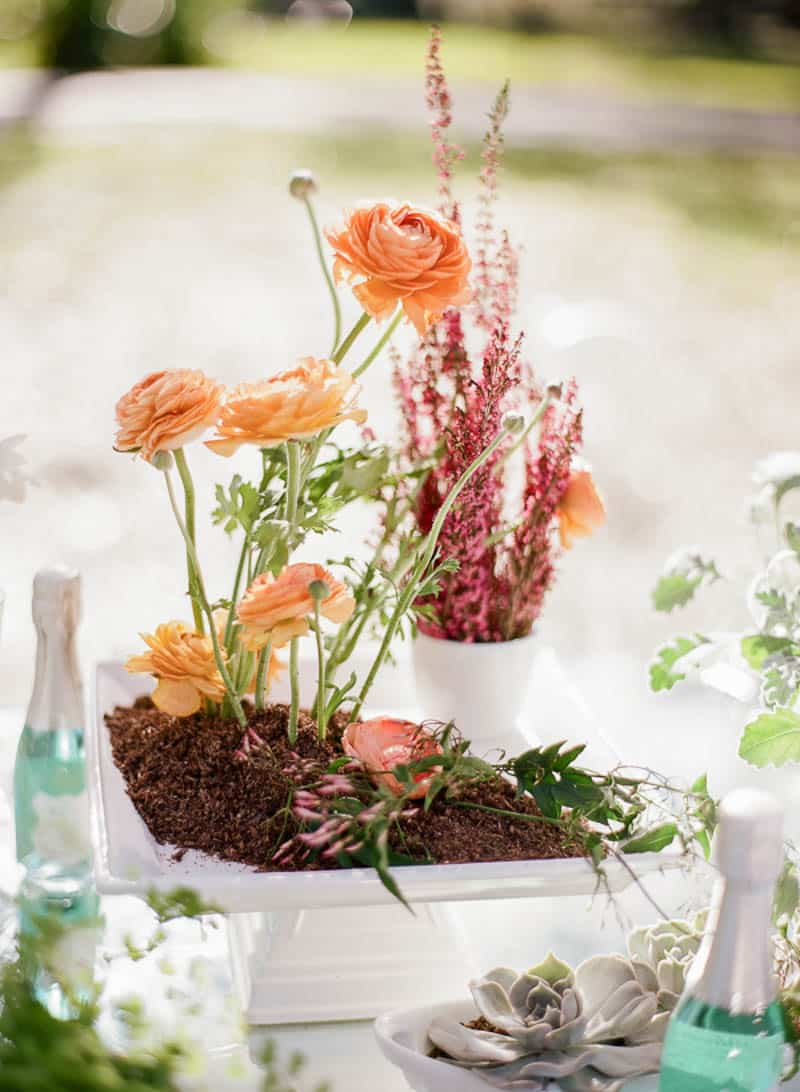 floral spring bridal shower ideas 25