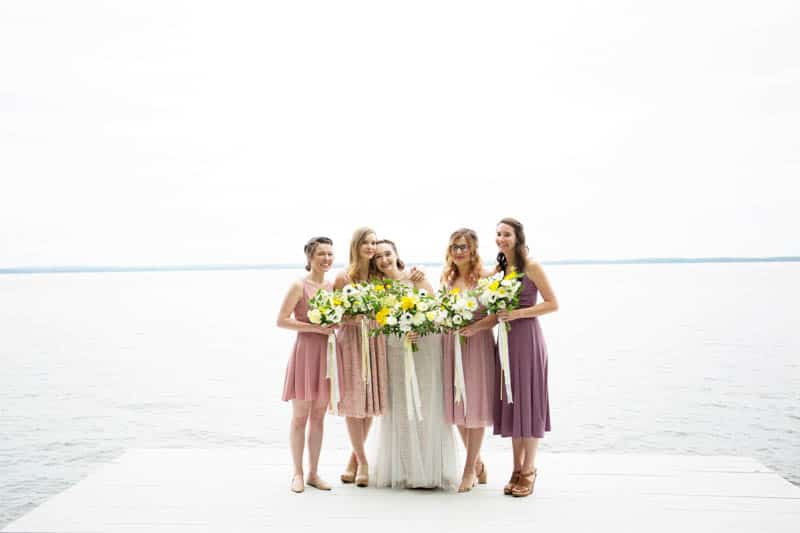 QUINTESSENTIALLY BRITISH & INTIMATE LAKESIDE WEDDING IN MAINE (12)
