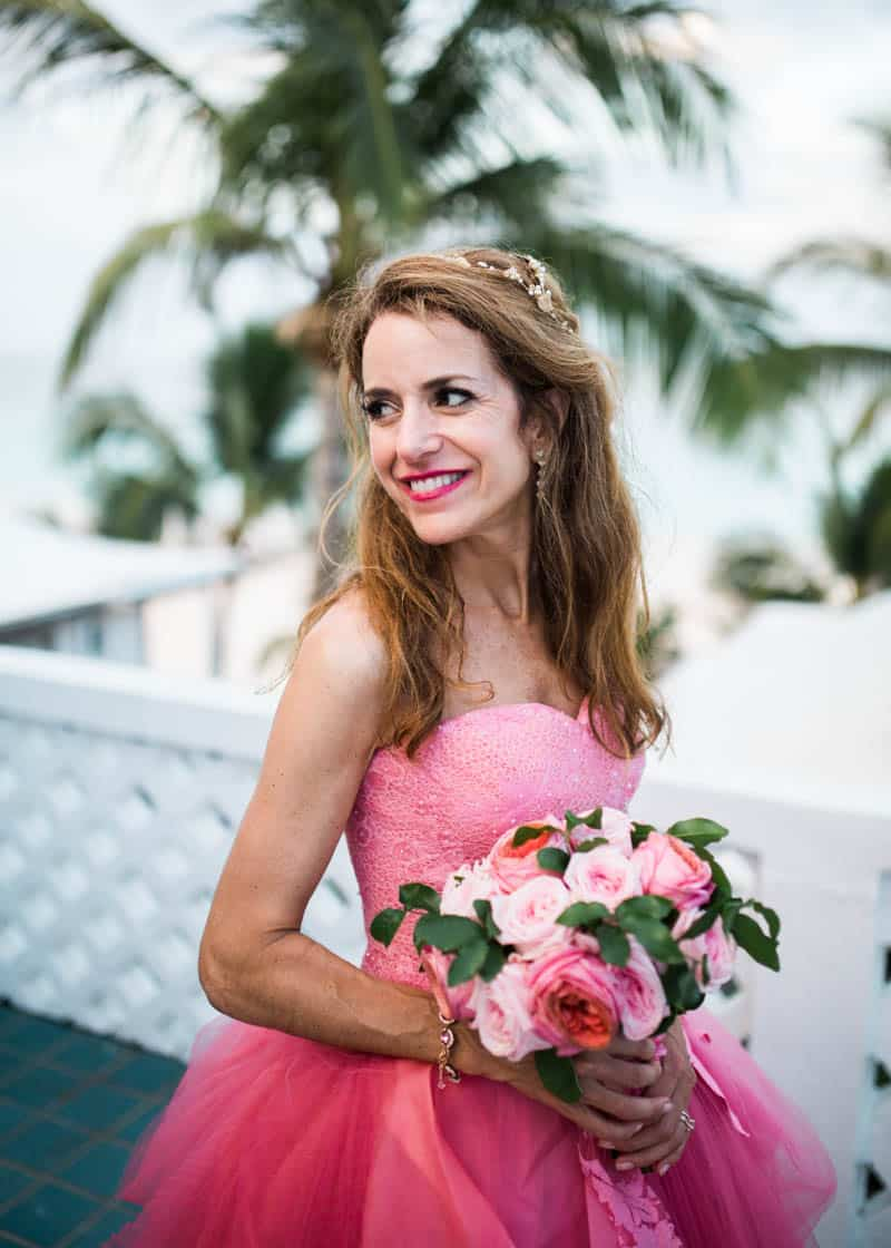 REAL LIFE CINDERELLA FAIRY TALE WEDDING IN THE BAHAMAS WITH A PINK VERA WANG DRESS (18)