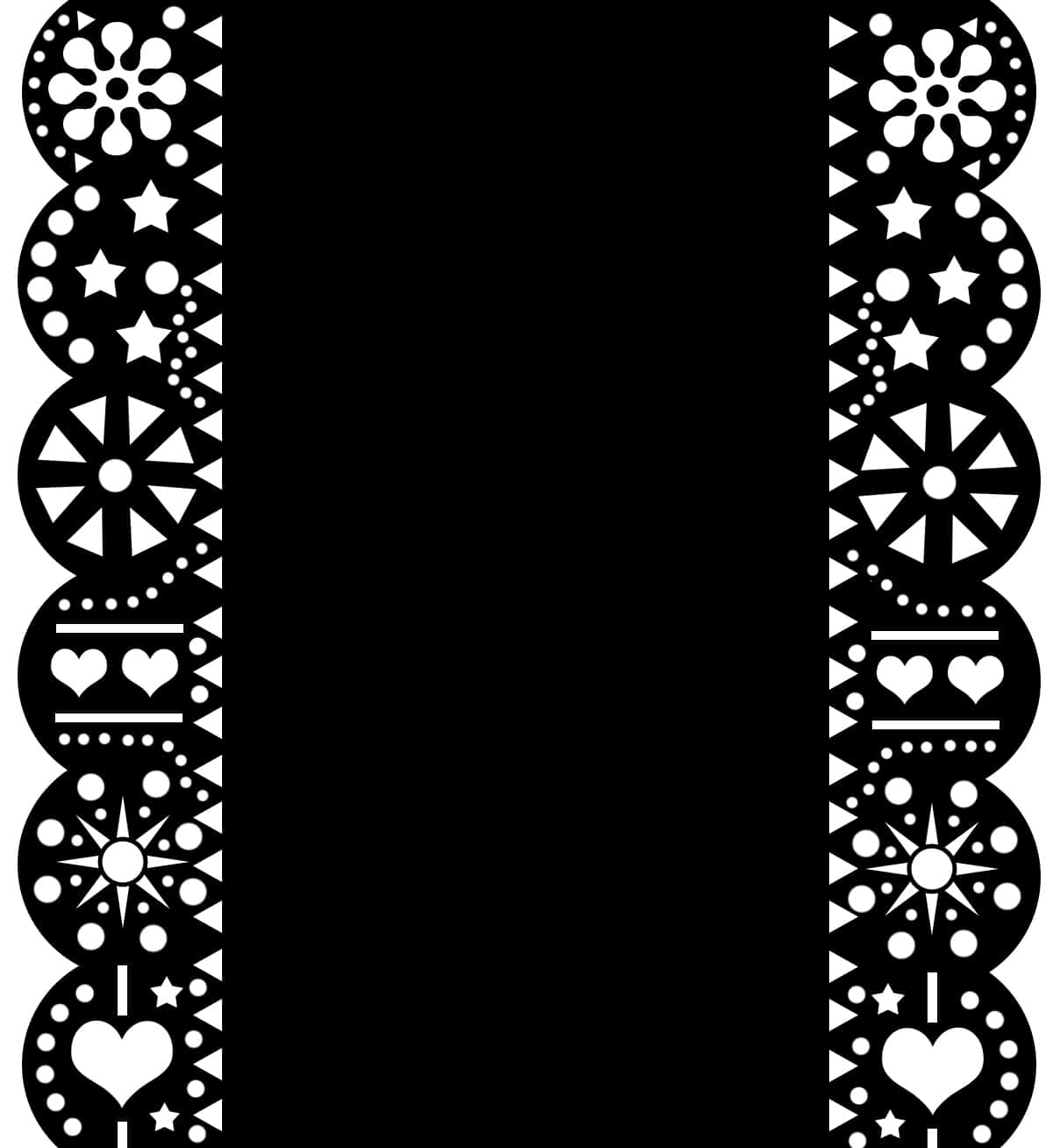 picture regarding Papel Picado Templates Printable known as Do it yourself MEXICAN PAPEL PICADO Encouraged Help you save THE DATES DIE Reduce