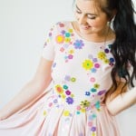 MAKE THIS CUTE EMBELLISHED DRESS FOR YOUR BRIDESMAIDS!