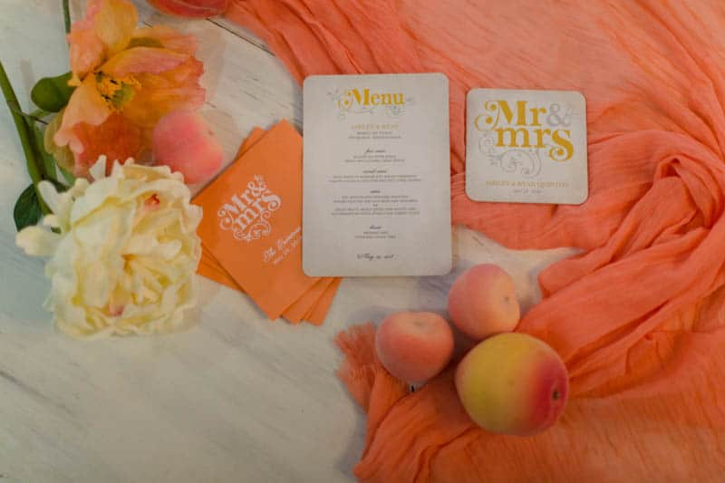 fun-colourful-yellow-coral-peach-wedding-and-bridal-shower-ideas-32