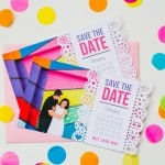 DIY PAPEL PICADO INSPIRED SAVE THE DATES