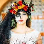 THIS DAY OF THE DEAD WEDDING WILL INSPIRE YOU TO HAVE A HALLOWEEN WEDDING