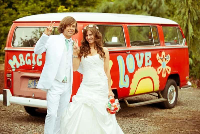 retro-campervan-hippie-wedding-unique-transport-ideas