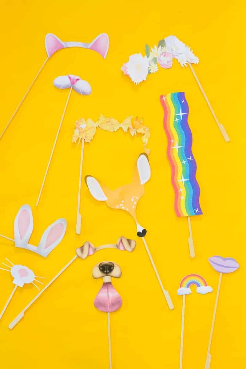 snapchat-filter-photobooth-props-free-printable-download-dog-deer-rainbow-rabbit-dalmation-wedding_-9