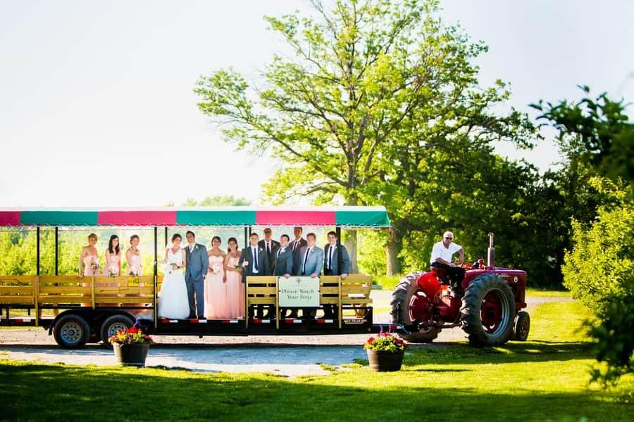 tractor-unique-wedding-transport-car-ideas