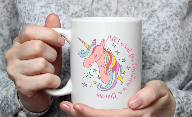 all-i-want-for-christmas-is-a-unicorn-mug