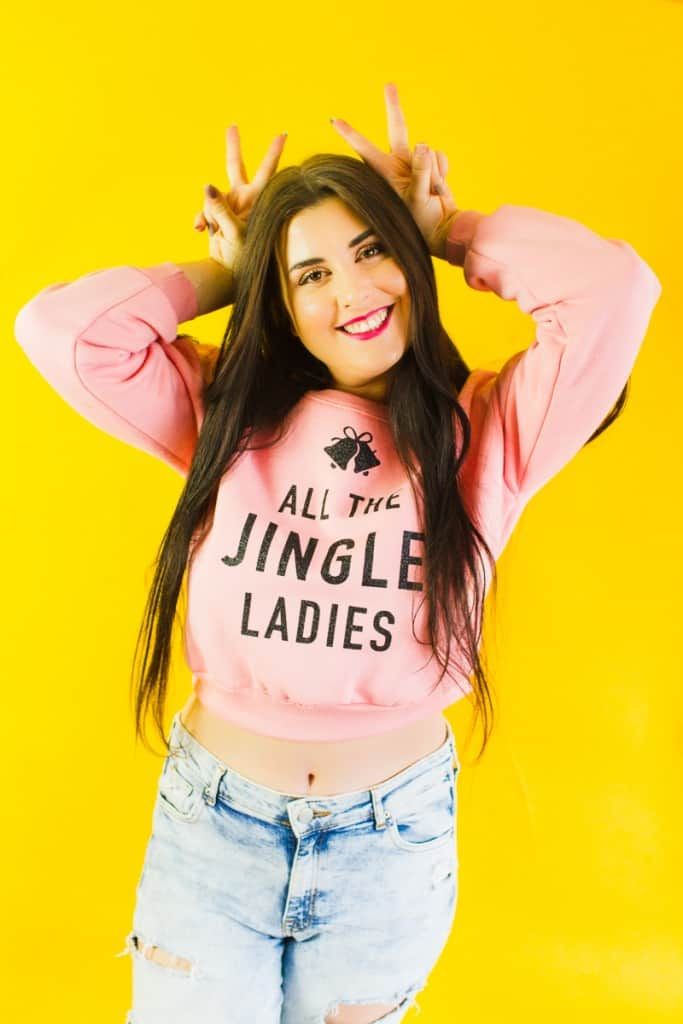 diy-slogan-graphic-christmas-jumper-diy-iron-on-all-the-jingle-ladies-cricut-pink-black-glitter-3