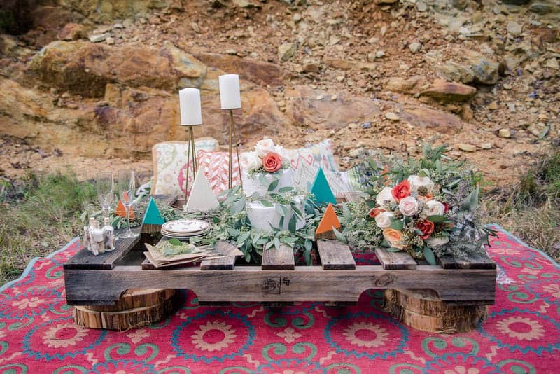 Edgy Modern Bohemian Native American Themed Wedding Ideas In The Mountains 12 Bespoke Bride Blog