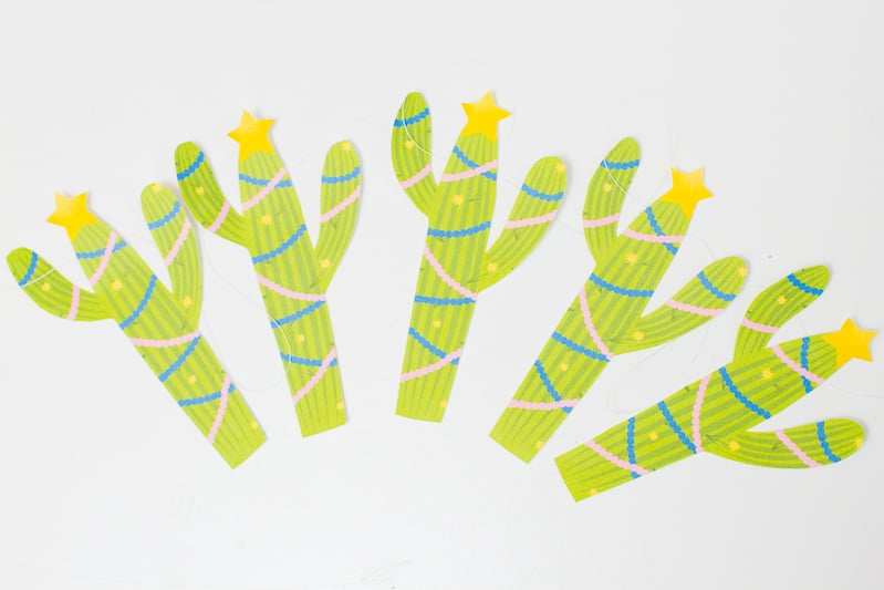 free-printable-christmas-cactus-garland-festive-decorations-banner-cacti-tinsel-stars-diy-tutorial-homemad-4