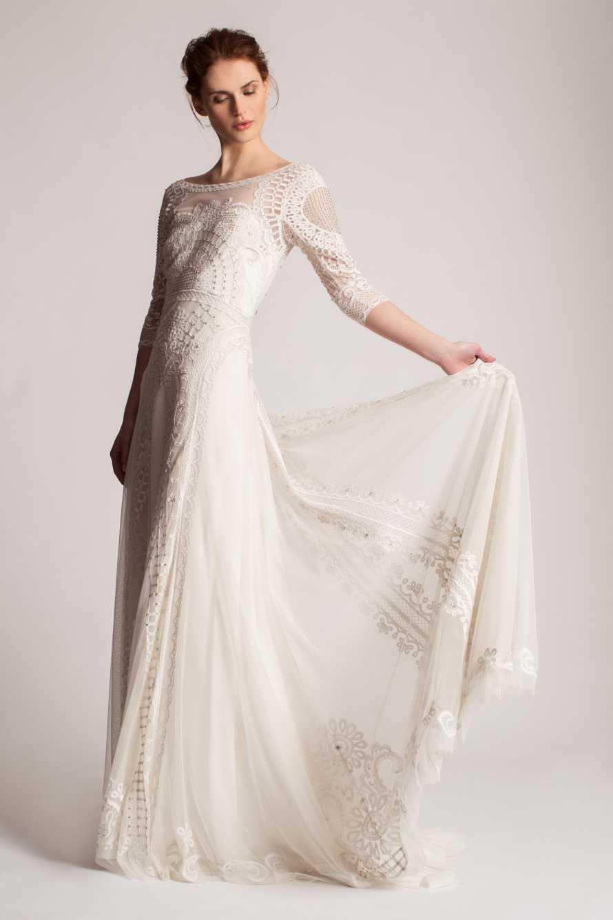 Modern Winter Wedding Dresses : Wedding dresses with sleeves bespoke bride