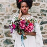 COLORFUL INDUSTRIAL WEDDING IDEAS WITH COOL BOHO VIBES