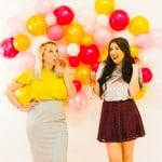 DIY BALLOON WALL BACKDROP FOR YOUR NYE PARTY!