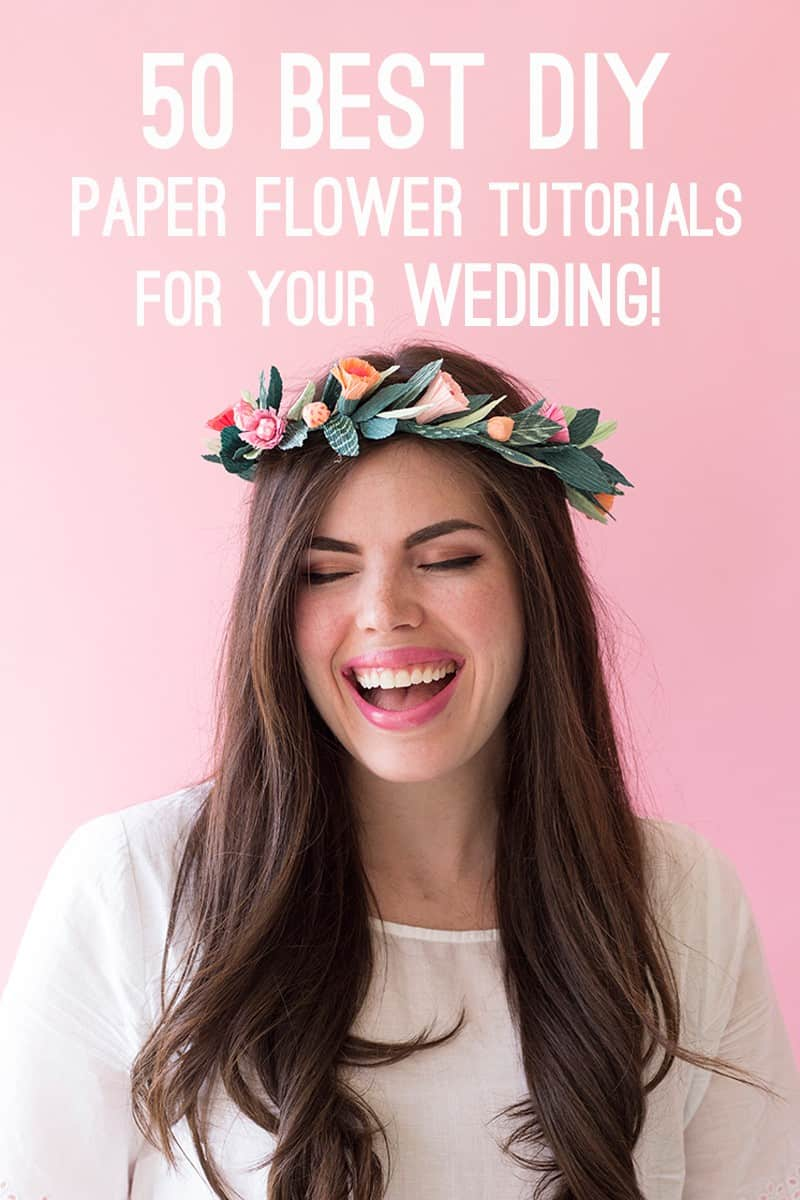 best-paper-flower-tutorials-for-your-wedding-paper-spring-floral-crown-bespoke-bride-wedding-blog