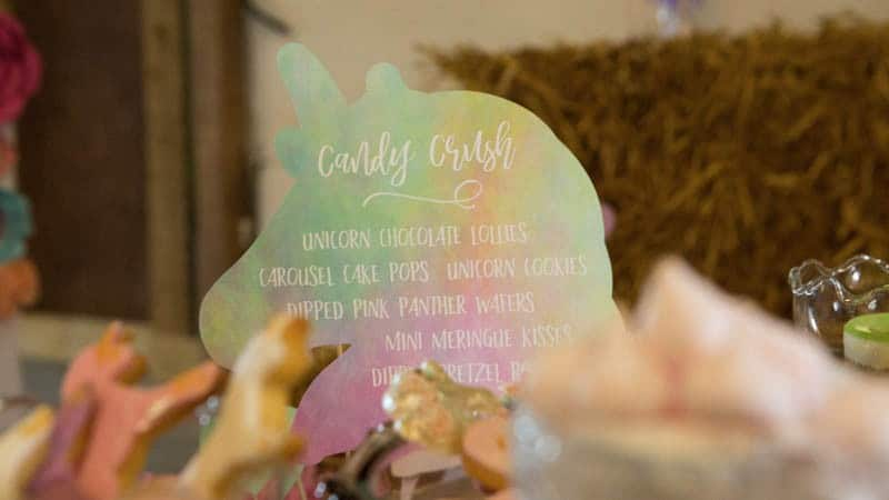 COLORFUL UNICORNS AND RAINBOWS THEMED WEDDING IDEAS (15)