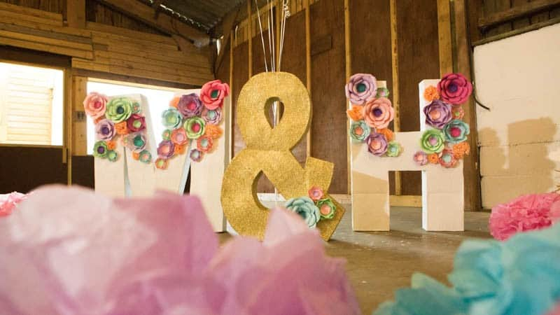 COLORFUL UNICORNS AND RAINBOWS THEMED WEDDING IDEAS (18)