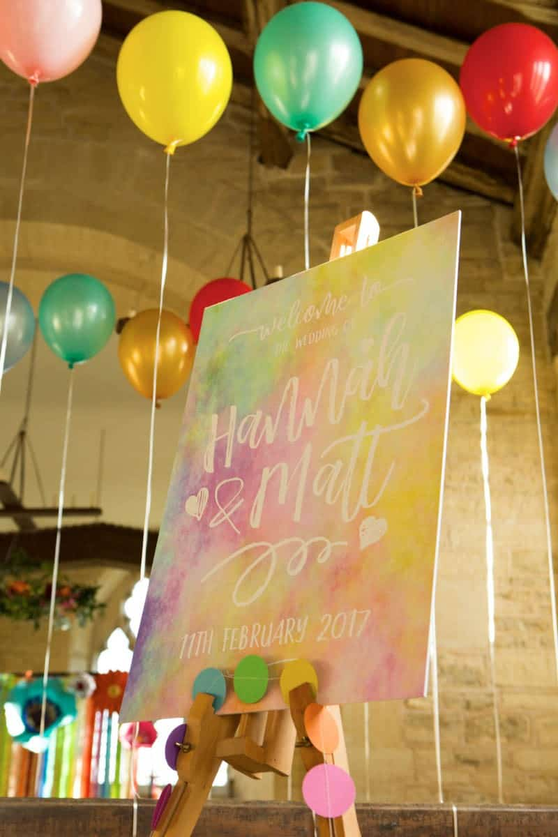 COLORFUL UNICORNS AND RAINBOWS THEMED WEDDING IDEAS (2)