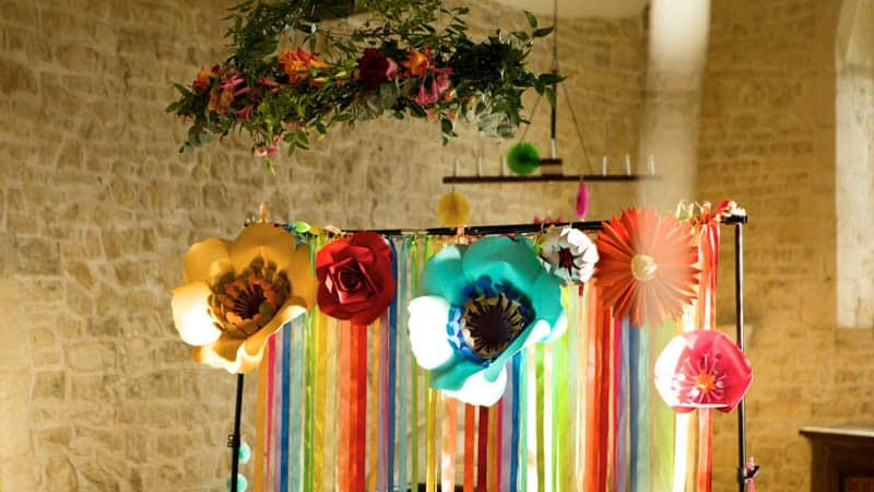 COLORFUL UNICORNS AND RAINBOWS THEMED WEDDING IDEAS (3)