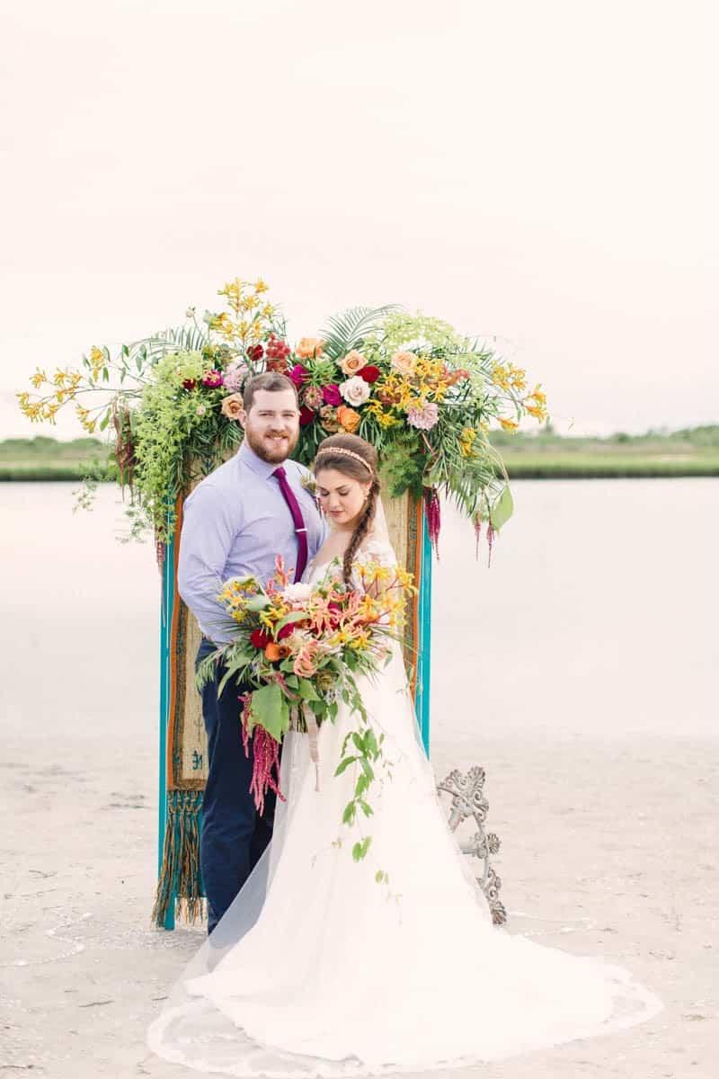 HOW TO STYLE A MOROCCAN BOHO BEACH WEDDING (22)