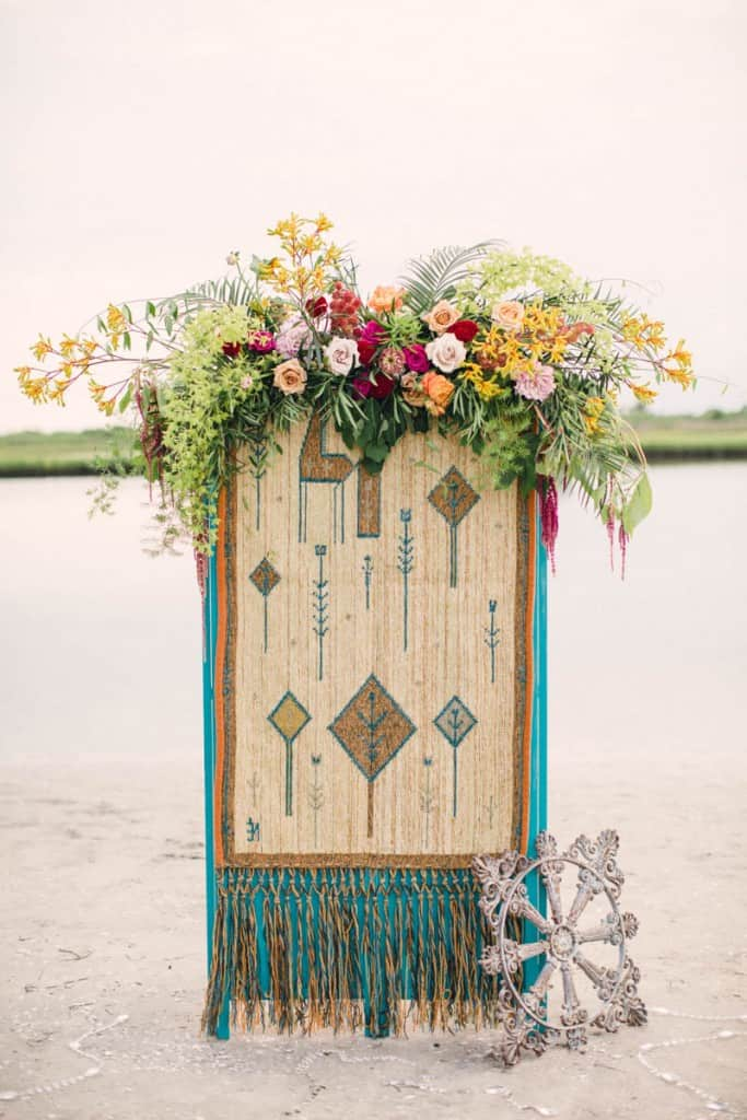 HOW TO STYLE A MOROCCAN BOHO BEACH WEDDING (24)