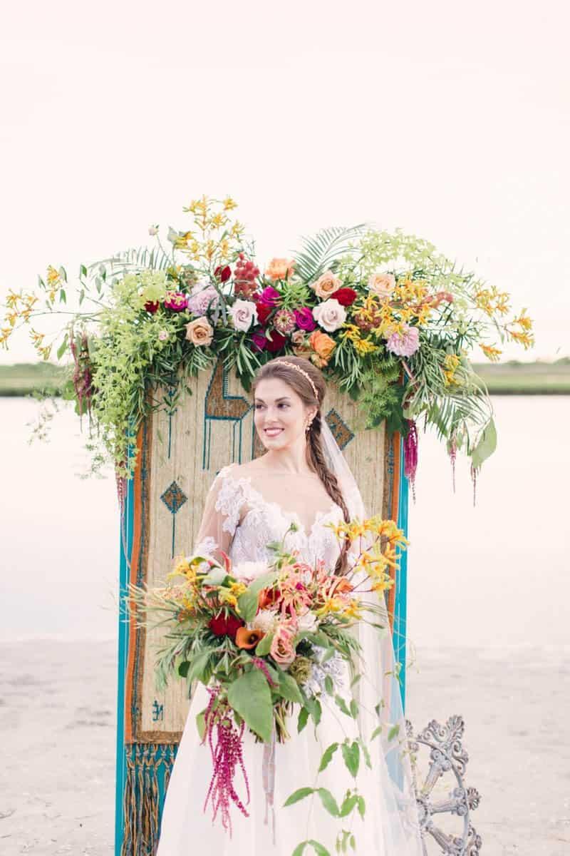 HOW TO STYLE A MOROCCAN BOHO BEACH WEDDING (4)