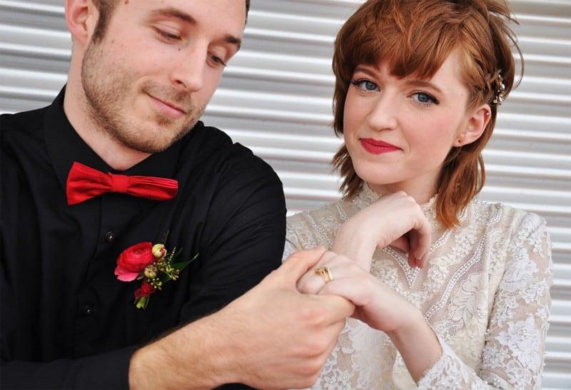 PINK, BLACK & WHITE VALENTINES DAY WEDDING IDEAS IN MUNCH FOOD PARK (7)