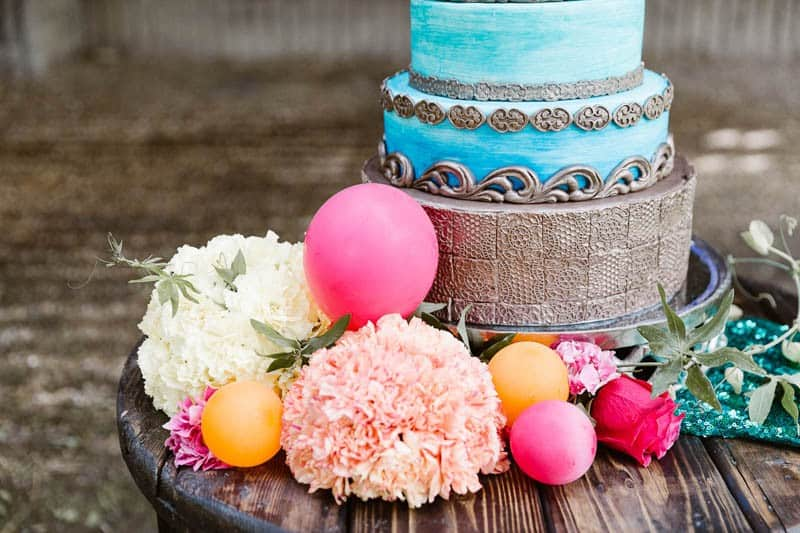 PLAYFUL & ROMANTIC KATY PERRY INSPIRED WEDDING WITH COLORFUL BALLOON ARCH (25)