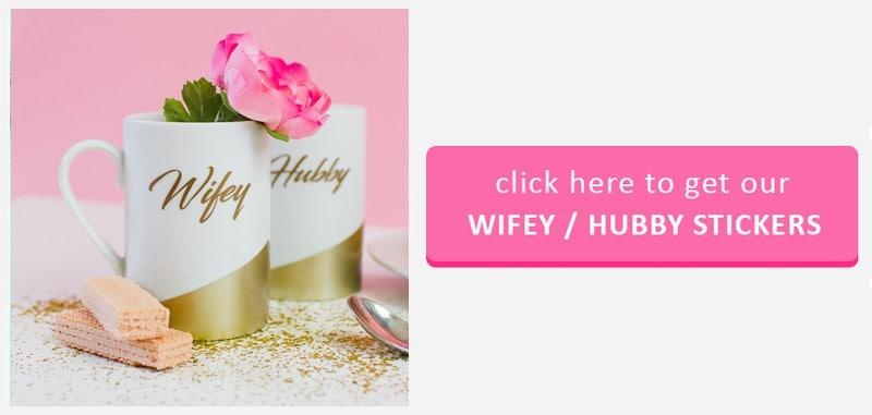 Wifey Hubby Button