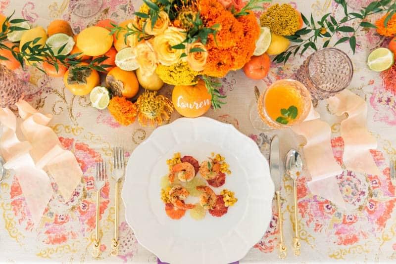 21. modern art catering - a good affair - flower duet - sanaz photography - napa valley linens - soiree_