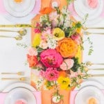 18 PRETTY TABLESCAPE IDEAS FOR A SPRING WEDDING